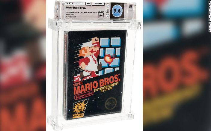 Kỷ lục: Bản sao video cổ điển Super Mario Bros được bán với giá 2,6 tỷ đồng