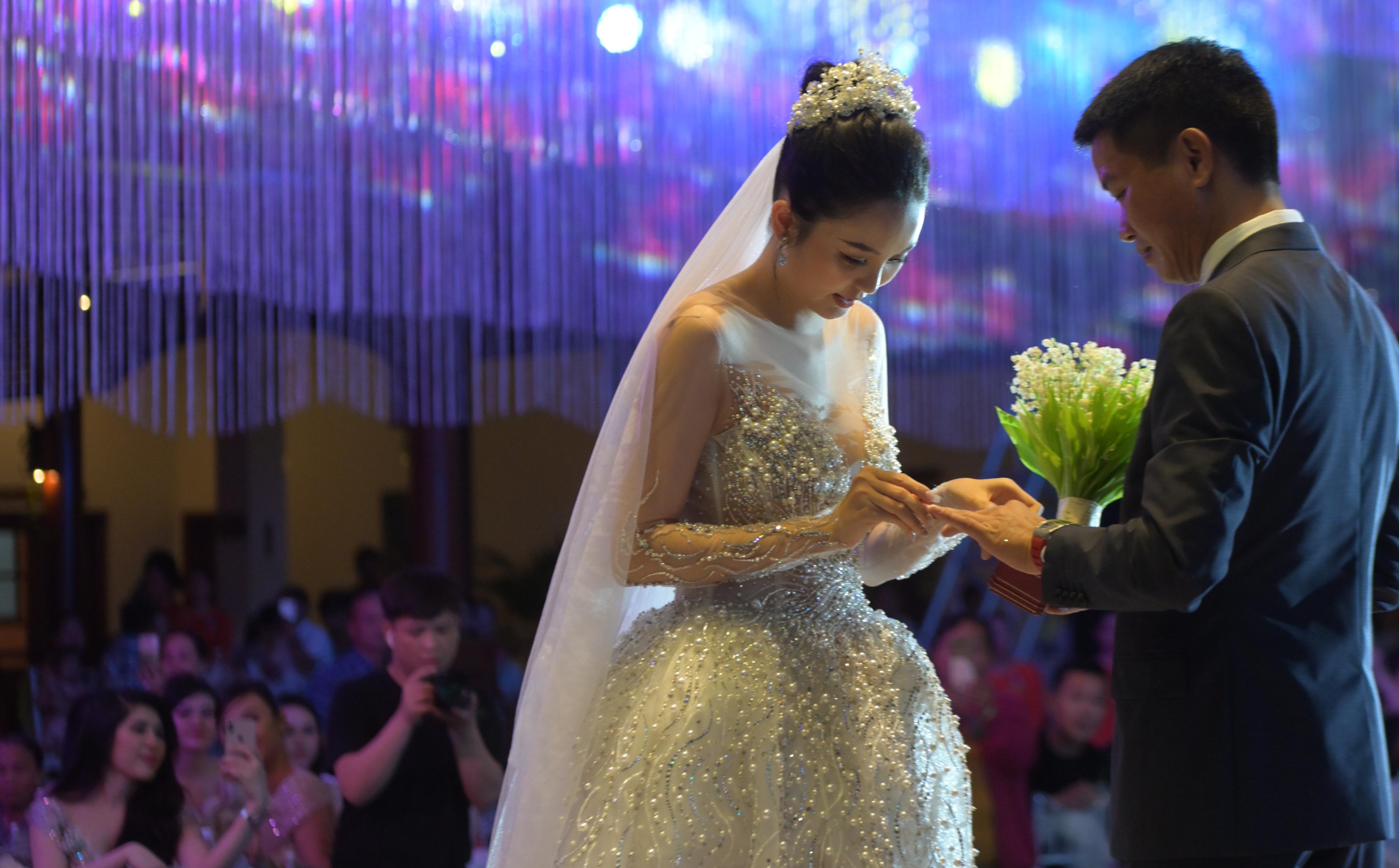 Đám cưới xa hoa của hoa khôi Hải Yến tại Cần Thơ