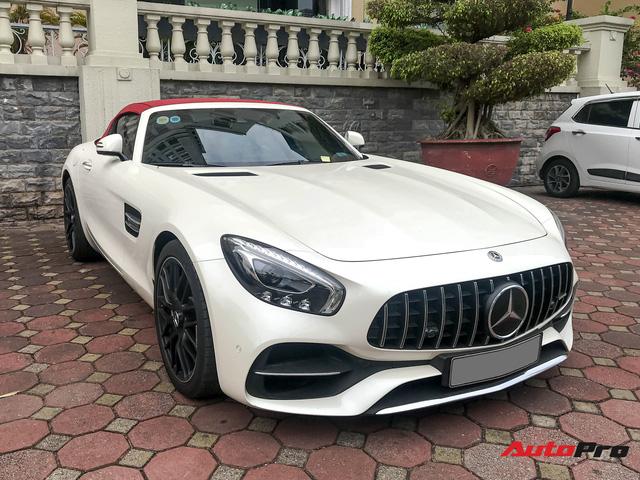 Mercedes-AMG GT Roadster hiếm gặp nhất nhì Việt Nam tái xuất Hà Nội sau 1 năm định cư Sài Thành - Ảnh 2.
