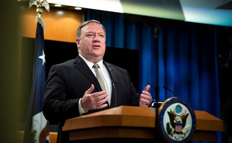 Mỹ chính thức bác bỏ hầu hết các yêu sách hàng hải của Trung Quốc ở Biển Đông