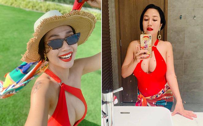 Hình ảnh táo bạo ở tuổi 36 của Ốc Thanh Vân