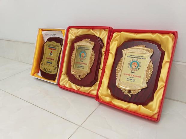 Nam sinh làm clip khoe giấy khen, dân tình soi ra tấm bằng mạ vàng chỉ dành cho học sinh giỏi - Ảnh 2.