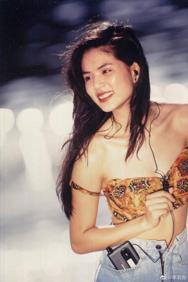 Khoe ảnh 30 năm trước, Tiểu Long Nữ Lý Nhược Đồng gây bão Weibo với nhan sắc cực phẩm, body kém gì idol đâu? - Ảnh 3.