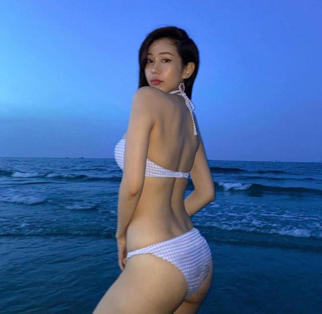Hết tự ti về nhược điểm cơ thể, Min tung ảnh bikini đầy gợi cảm - Ảnh 3.