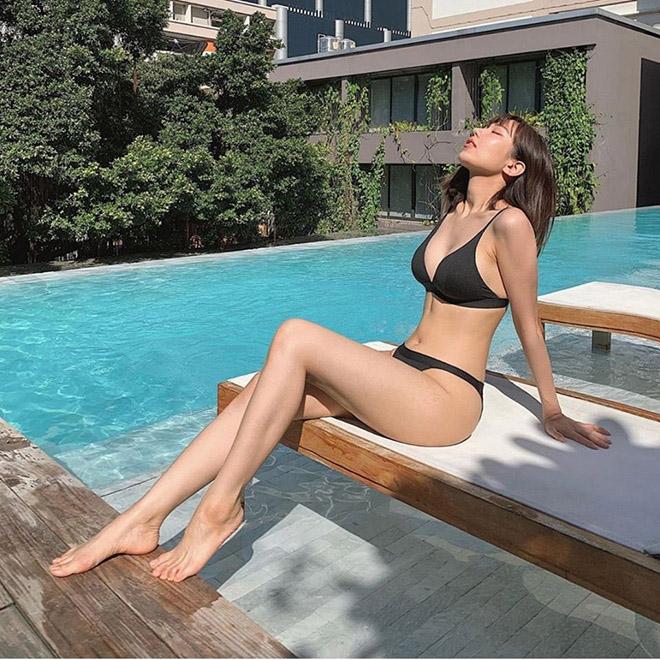 Hết tự ti về nhược điểm cơ thể, Min tung ảnh bikini đầy gợi cảm - Ảnh 6.
