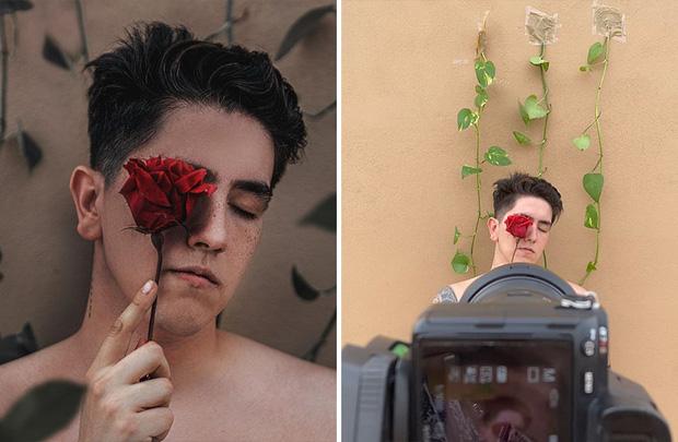 Loạt hậu trường khó đỡ của những bức ảnh long lanh trên Instagram khiến dân tình phải nể phục óc sáng tạo của hội phó nháy - Ảnh 28.