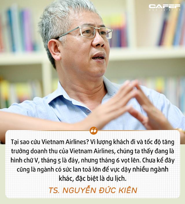 """Tổ trưởng Tổ tư vấn của Thủ tướng: Vì sao cần """"cứu"""" Vietnam Airlines? - Ảnh 5."""