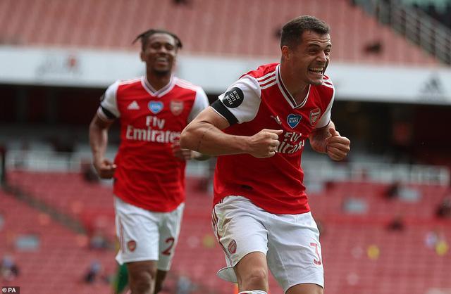 Arsenal 4-0 Norwich: Auba cán mốc 50 bàn thắng, Soares ra mắt hoàn hảo! - Ảnh 2.