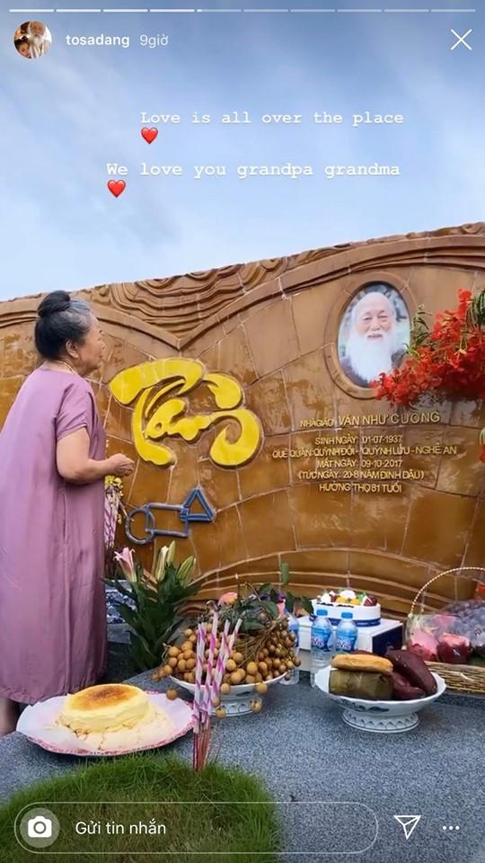 83 năm ngày sinh cố nhà giáo Văn Như Cương, Tô Sa - cháu ngoại thầy Cương chia sẻ khoảnh khắc xúc động của bà ngoại cạnh mộ thầy - ảnh 2