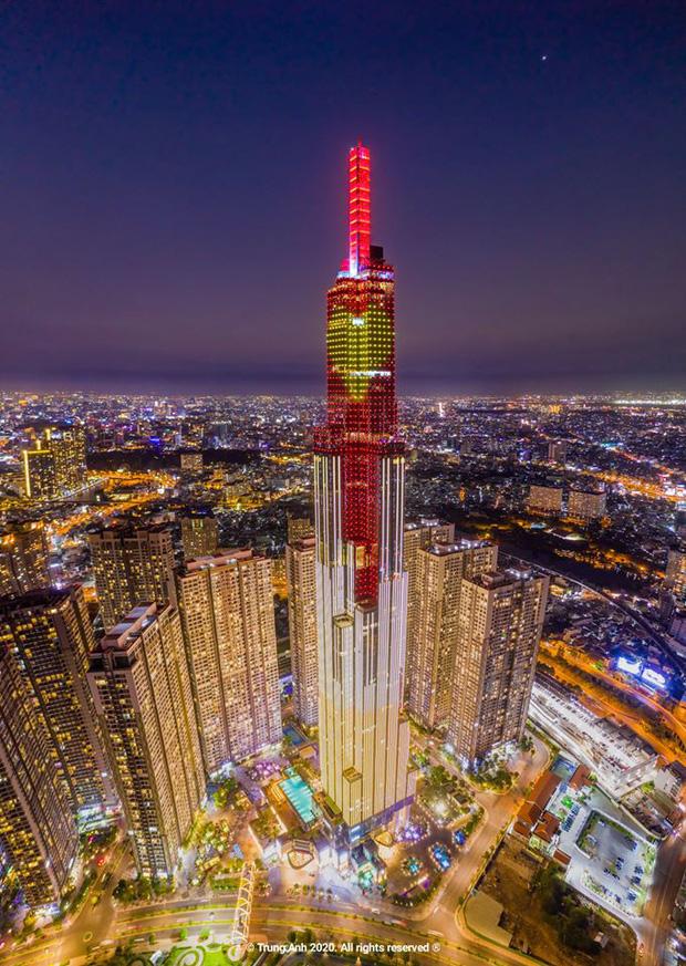 Khoảnh khắc 2 toà tháp cao nhất Sài Gòn vô tình lọt chung khung hình khiến dân mạng thảng thốt: Đẹp như cảnh trong phim Hollywood vậy! - Ảnh 11.