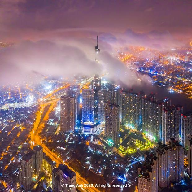 Khoảnh khắc 2 toà tháp cao nhất Sài Gòn vô tình lọt chung khung hình khiến dân mạng thảng thốt: Đẹp như cảnh trong phim Hollywood vậy! - Ảnh 14.