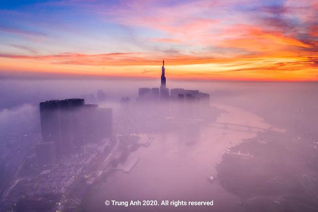 Khoảnh khắc 2 toà tháp cao nhất Sài Gòn vô tình lọt chung khung hình khiến dân mạng thảng thốt: Đẹp như cảnh trong phim Hollywood vậy! - Ảnh 16.