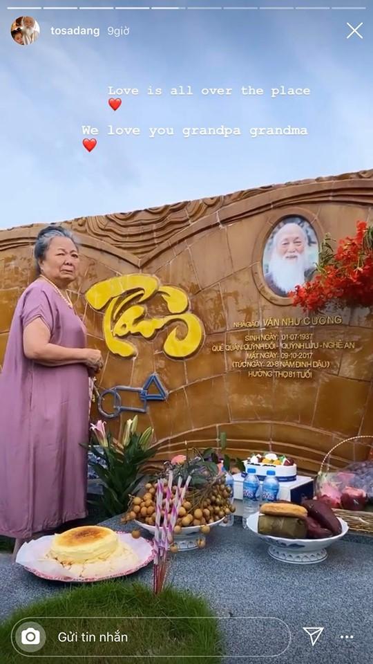 83 năm ngày sinh cố nhà giáo Văn Như Cương, Tô Sa - cháu ngoại thầy Cương chia sẻ khoảnh khắc xúc động của bà ngoại cạnh mộ thầy - ảnh 3