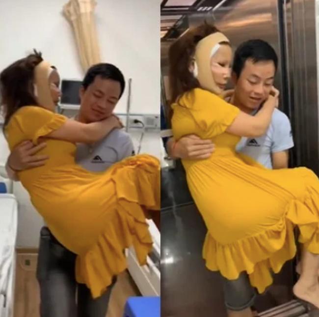 Cô dâu 63 tuổi ở Cao Bằng được chồng kém 36 tuổi cưng như trứng mỏng, đút cho ăn từng miếng nhưng trái ý là bị cắn thâm tím người? - Ảnh 3.