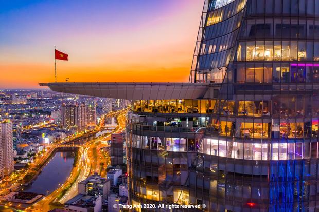Khoảnh khắc 2 toà tháp cao nhất Sài Gòn vô tình lọt chung khung hình khiến dân mạng thảng thốt: Đẹp như cảnh trong phim Hollywood vậy! - Ảnh 7.