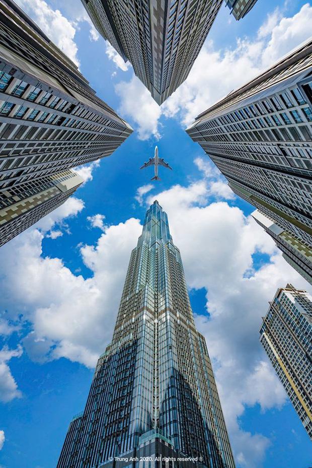 Khoảnh khắc 2 toà tháp cao nhất Sài Gòn vô tình lọt chung khung hình khiến dân mạng thảng thốt: Đẹp như cảnh trong phim Hollywood vậy! - Ảnh 9.