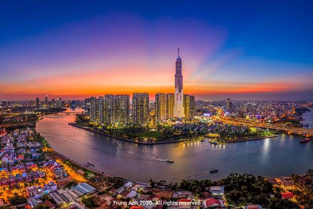 Khoảnh khắc 2 toà tháp cao nhất Sài Gòn vô tình lọt chung khung hình khiến dân mạng thảng thốt: Đẹp như cảnh trong phim Hollywood vậy! - Ảnh 10.