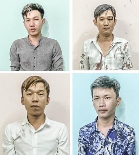 Bị nhắc nhở vì tụ tập, nhóm thanh niên xông vào tấn công công an ở Sài Gòn - Ảnh 1.