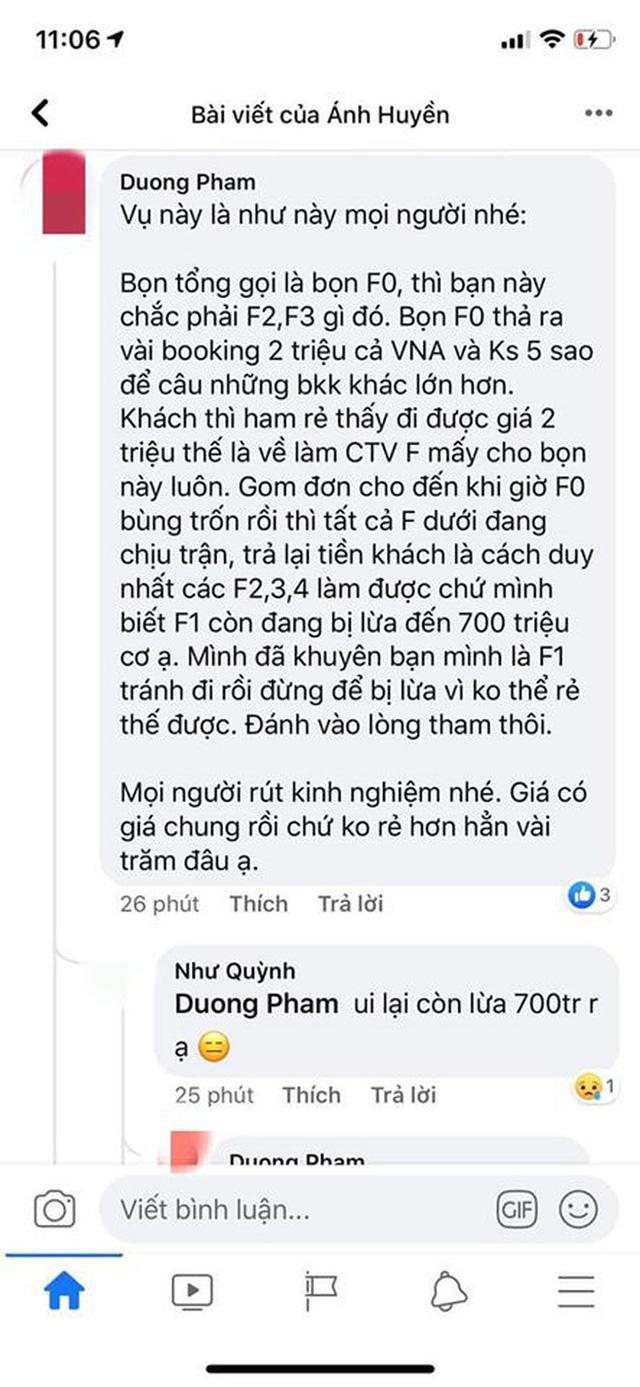 Hà Nội: Chủ phòng vé bốc hơi sau khi bán được hàng chục tỷ tiền combo du lịch giá rẻ - Ảnh 4.