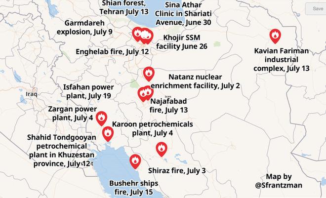 Báo Mỹ: Để lại vân tay trong các vụ cháy nổ, Israel sẽ đại chiến với Iran vào tháng 10? - Ảnh 1.