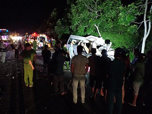 Tai nạn 8 người tử vong ở Bình Thuận: 1 phút trước tai nạn, xe khách giảm tốc độ từ 80km/h xuống 69km/h - Ảnh 2.