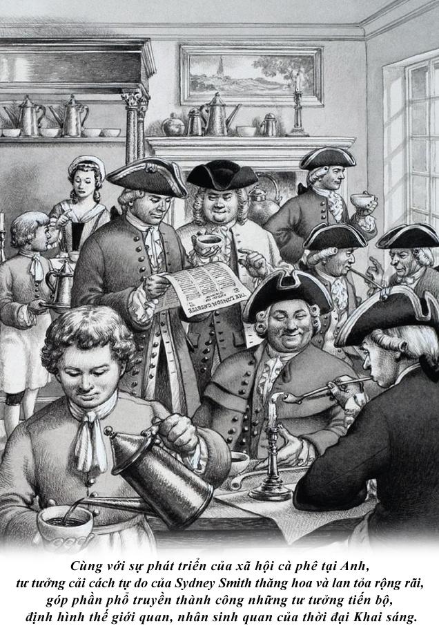 Cà phê và tinh thần cải cách tự do cấp tiến của Sydney Smith - Ảnh 4.