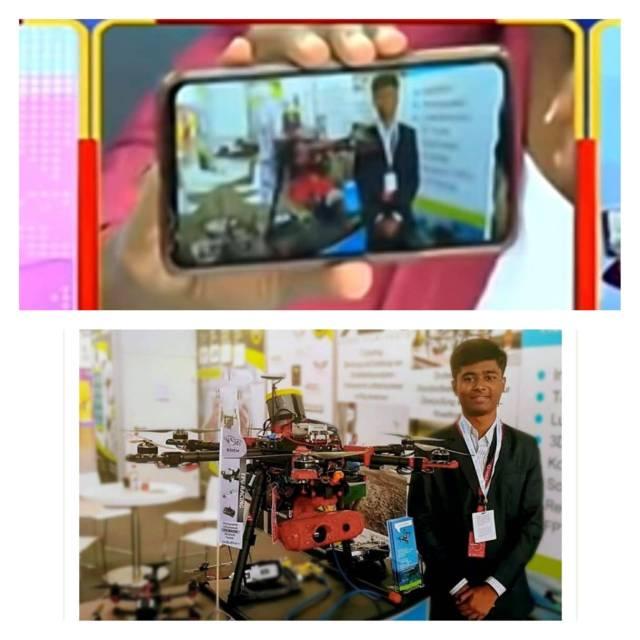Thần đồng drone Ấn Độ bị bóc phốt: Chụp ké sản phẩm rồi tự nhận là do mình chế tạo - Ảnh 1.