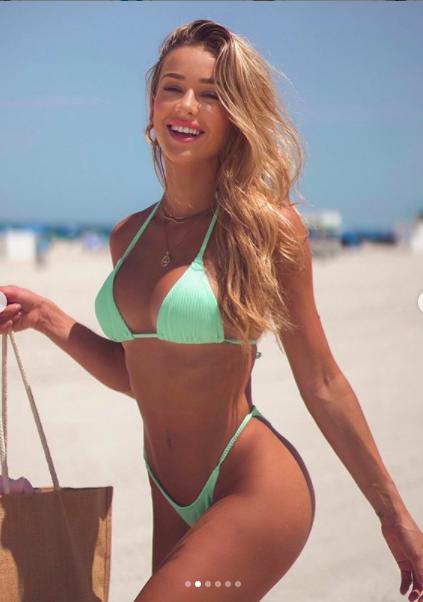 Mát mắt ngắm mẫu nội y 9x Cindy Prado giải nhiệt ngày hè với áo tắm  - Ảnh 2.