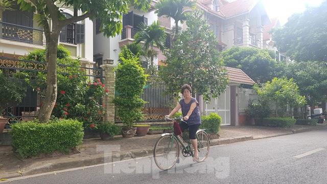 Cận cảnh biệt thự đô thị mẫu Hà Nội đua nhau thay cây xanh, lát vỉa hè sai quy hoạch - Ảnh 11.