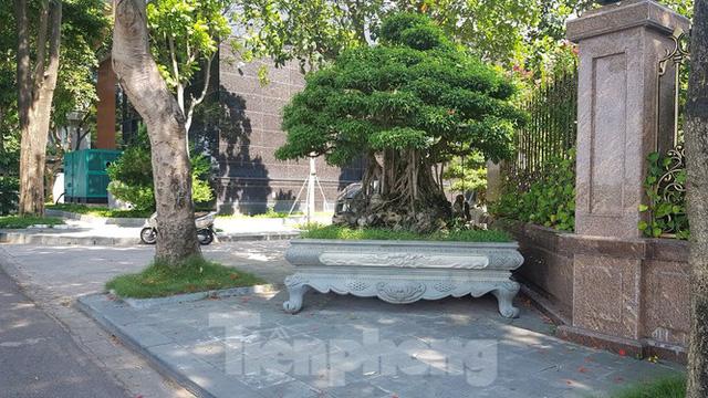 Cận cảnh biệt thự đô thị mẫu Hà Nội đua nhau thay cây xanh, lát vỉa hè sai quy hoạch - Ảnh 27.