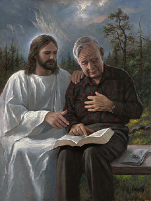 Cầu Chúa cứu giúp song thất bại, ông lão lên thiên đàng trách móc rồi câm nín trước 1 câu nói - Ảnh 2.