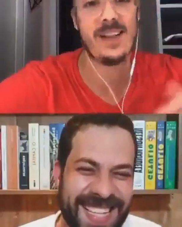 Đang livestream phỏng vấn, người dẫn chương trình đứng hình khi vợ khỏa thân đi qua - Ảnh 3.