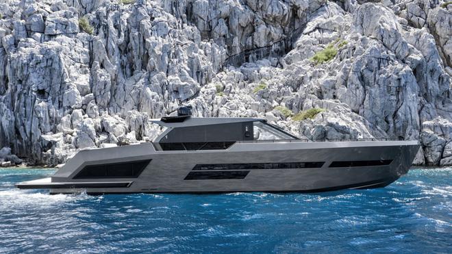 Du thuyền siêu sang làm bằng carbon tổng hợp và kính chống đạn - Ảnh 1.