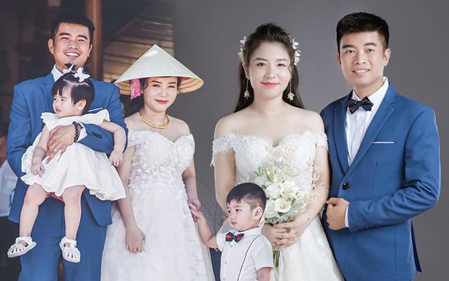 Câu chuyện về đám cưới chạy tang đằng sau đầy xót xa của đôi vợ chồng có với nhau 2 mặt con, cô dâu mang bầu bé thứ 3 mới tổ chức hôn lễ - Ảnh 1.