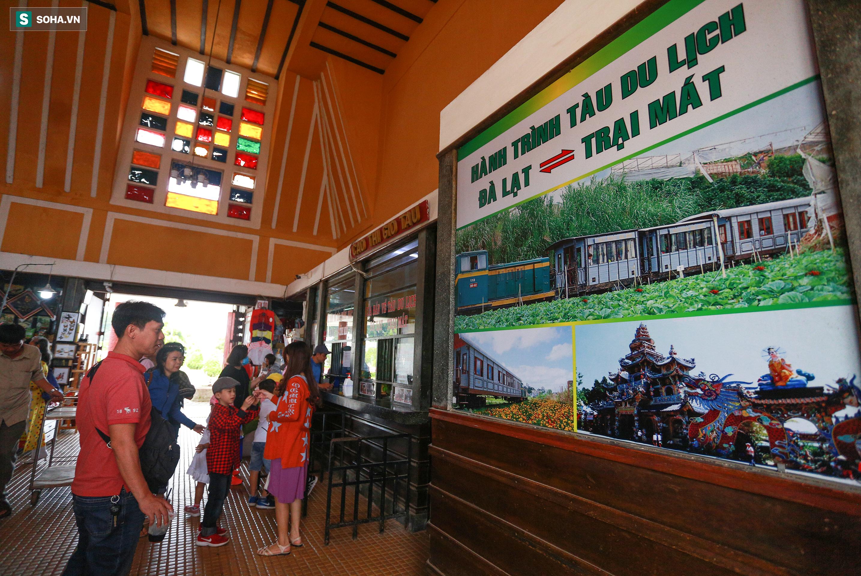 Vẻ đẹp cổ kính của ga tàu hoả gần 100 tuổi ở Đà Lạt nhìn từ trên cao - Ảnh 13.