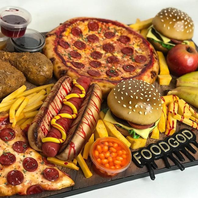 Nếu bạn nghĩ đây là miếng pizza ngon lành thì bạn đã sai hoàn toàn, không ít người phải ăn cú lừa ngoạn mục để rồi trầm trồ thán phục - Ảnh 16.