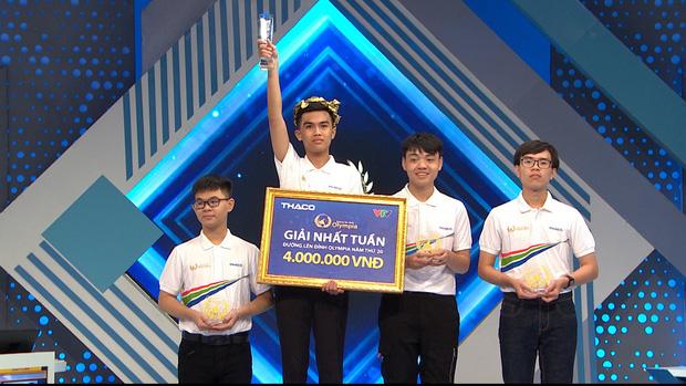 Nam sinh Hà Nội phá vỡ thêm 1 kỷ lục Đường lên đỉnh Olympia - Ảnh 3.