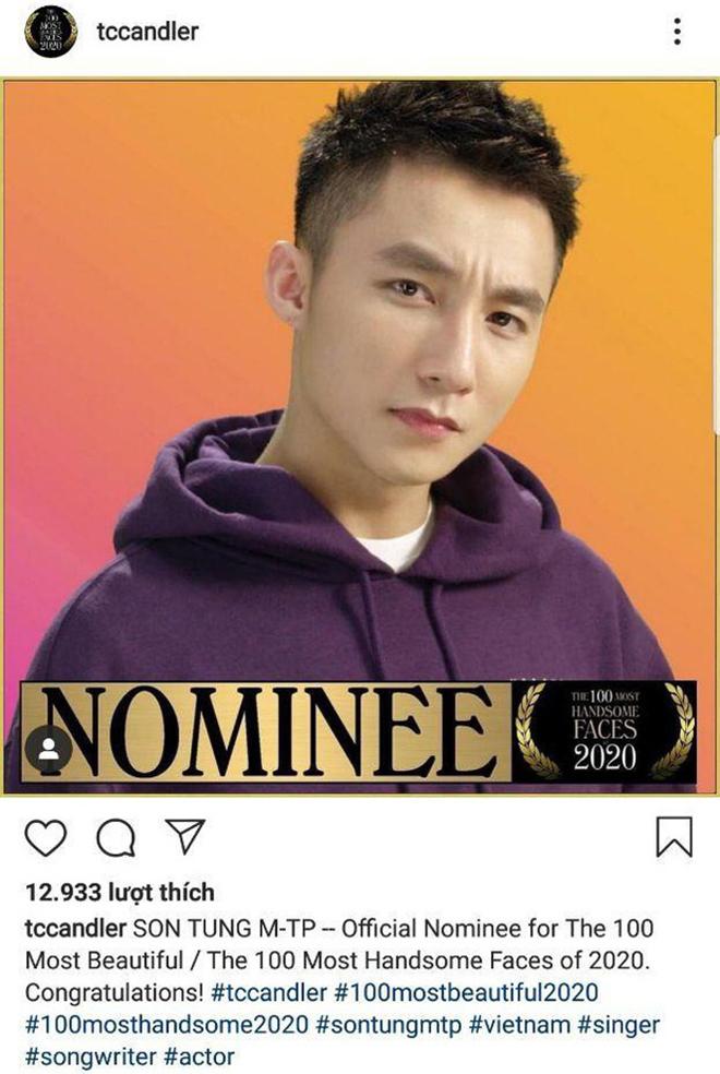 Phản ứng của Sơn Tùng khi được đề cử Top 100 gương mặt đẹp nhất thế giới - Ảnh 1.