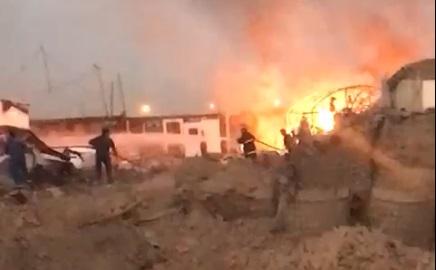 Mỹ tấn công, nổ lớn rung chuyển Baghdad - UAV rơi, tướng lĩnh Israel họp khẩn, biên giới nóng rực, QĐ Syria đã sẵn sàng - Ảnh 3.