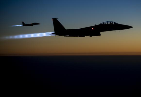 UAV Israel rơi, Quân đội Do Thái báo động chiến đấu cao - Tin mới nhất vụ F-15 Mỹ chặn kích máy bay Iran ở Syria - Ảnh 2.