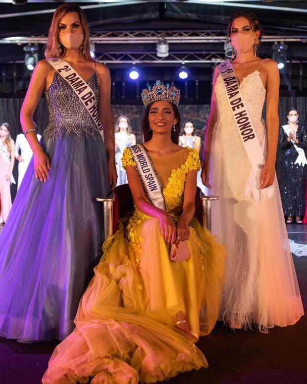 Tình huống oái oăm xảy ra trong chung kết Hoa hậu Tây Ban Nha vì tổ chức thi giữa dịch Covid-19 - Ảnh 2.