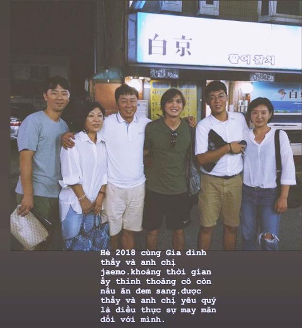Tuấn Anh chia sẻ kỷ niệm đáng yêu với gia đình HLV Chung Hae-seong trong những ngày khó khăn nhất - Ảnh 1.