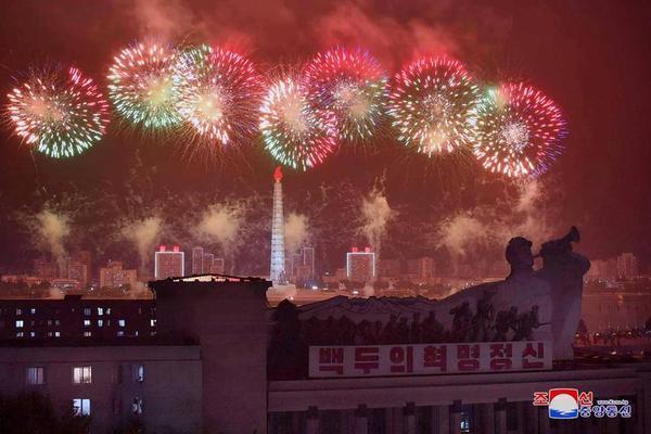 Triều Tiên bắn pháo hoa kỷ niệm Ngày Chiến thắng - Ảnh 8.