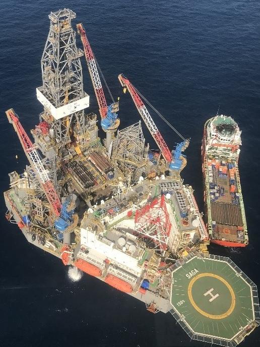 Phát hiện mỏ dầu khí trữ lượng lớn nhất lịch sử ngành Dầu khí Việt Nam - Ảnh 1.
