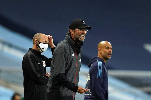 Ngạo nghễ với chức vô địch, Liverpool bị Man City đá cho xây xẩm mặt mày trong mưa bàn thắng - Ảnh 4.