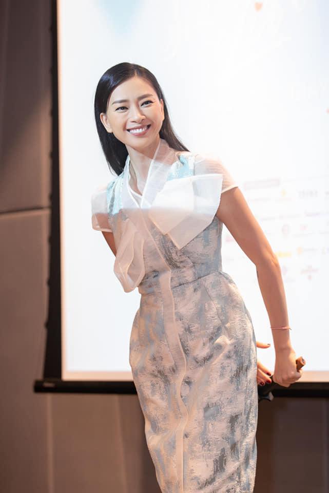Gương mặt trẻ trung, làn da không tỳ vết của Ngô Thanh Vân ở tuổi 41 - Ảnh 4.
