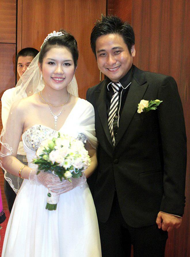 Người vợ giản dị, dễ tính và kém 13 tuổi của diễn viên đào hoa Minh Tiệp - Ảnh 1.