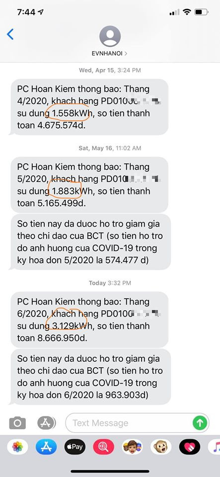 Khách hàng ở Hà Nội thuê luật sư tính việc kiện EVN Hoàn Kiếm do tiền điện tháng 6 tăng vọt - Ảnh 1.