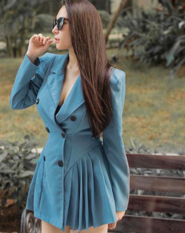 Bà xã Khắc Việt tự tin tung ảnh bikini ôm bụng bầu 6 tháng: Vòng 2 nhô lên lớn rõ nhưng body vẫn nóng bỏng quá! - Ảnh 3.