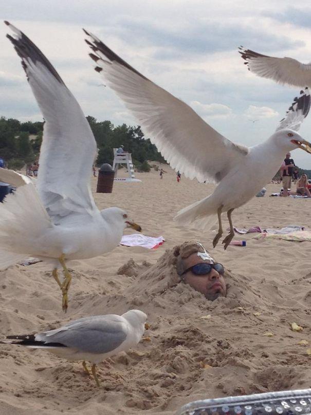 16. Tưởng bỏ lại sau lưng tất cả, xách ba lô lên và đi là sẽ chỉ có biển xanh, cát trắng và nắng vàng, ai dè.